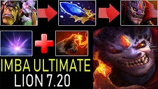 36X STACK ULTIMATE LION [COMBO WITH DARKSEER VACUUM] DOTA 2 7.20
