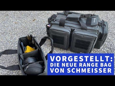 schmeisser: Video-Vorstellung: Das neue Schmeisser Range Bag für Pistolen bietet viele clevere Lösungen zum sicheren Verstauen von Waffe, Munition und Zubehör.