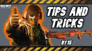 How to Train with BY15 and use it Properly - Call of Duty Mobile - Battle Royale - Tips & Tricks