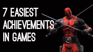 The 7 Easiest Achievements in Games
