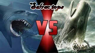 Versus: Megalodón contra Moby dick