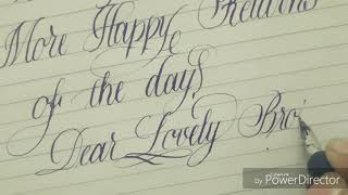 Write my wishes: Birthday wishes for brother from a sister