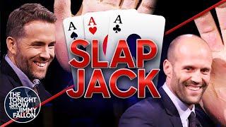 Tonight Show Slapjack with Ryan ReynoldsandJason Statham | The Tonight Show Starring Jimmy Fallon