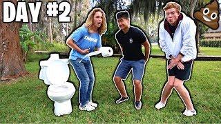 Last To Poop Wins $1,000 - Challenge