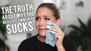 THE PROBLEM WITH THE BEAUTY COMMUNITY... | Samantha Ravndahl