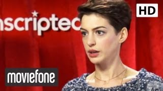 Anne Hathaway's Singing Voice in 'Les Miserables' | Moviefone Unscripted