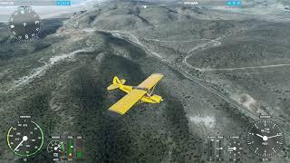 Leg 5: Breckenridge to Yosemite Bush Trip (Microsoft Flight Simulator)