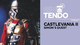 Gintendo stream #07: Castlevania II: Simon's Quest [Famicom Disk System]