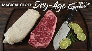 Wagyu Cheesecloth DRY AGE Experiment | Guga Foods