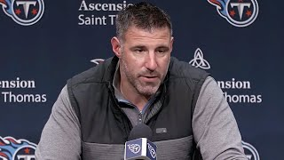 Mike Vrabel: I'm Thankful for the Effort of Our Players