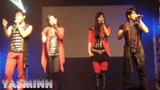 Bless4 (Akino) Concert @ Animaco 2012 Berlin (121103) - Part 2