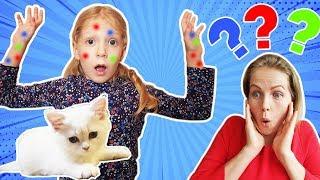 У МИЛАНЫ АЛЛЕРГИЯ на кошку?  Мама в шоке не знаем что делать НАШ ОДИН ДЕНЬ