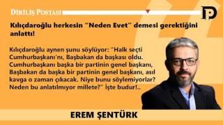 """'Kılıçdaroğlu herkesin """"Neden Evet"""" demesi gerektiğini anlattı!'"""