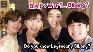 B.A.P met Sibong (Feat. Sming)! I aksed which super-power do they want?