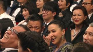 """35th HKFA """"最佳電影原創音樂""""演出 - 林敏聰、鄭中基"""
