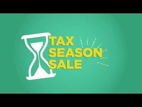 Tax Season Sale - 2019