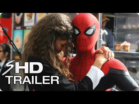SPIDER-MAN: Far From Home Tribute Trailer (2019) \