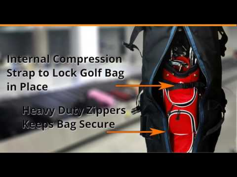 Constrictor 2 Golf Travel Bag by CaddyDaddy Golf
