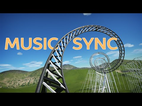 Music Synchronized Roller Coaster (Front Seat POV)