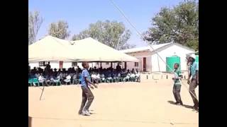 Marapong Primary school(BOTSWANA);; kids dancing to Magwaza-Chandapiwa