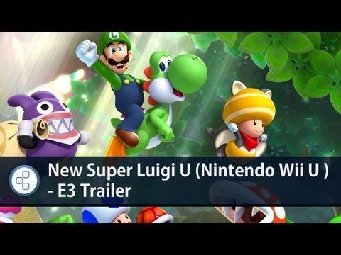Видео № 0 из игры New Super Luigi [Wii U]