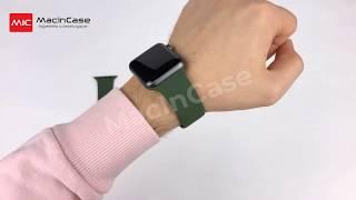 Ремешок STR Sport Band for Apple Watch - Forest