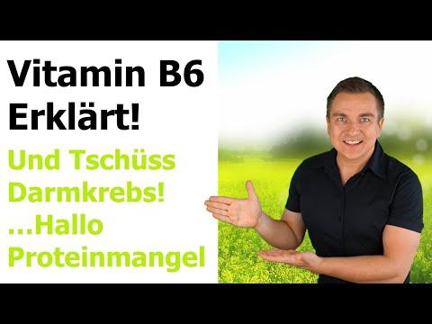 Vitamin B6 Mangel und Wirkung von Pyridoxin