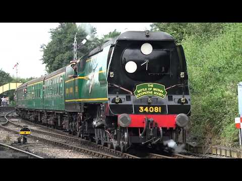 A behind the scenes view of the Mid-Hants Railway Summer Ste…