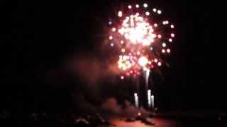 2013 Holiday flotilla firework finale Wrightsville Beach, NC - Video Youtube