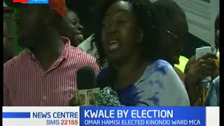 Kwale by election:Omar Hamisi elected Kinondo ward MCA