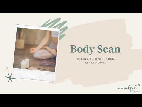 In this video I guide through a 10-minute meditation practice, called body scan, for total body relaxation and awareness.