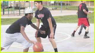 TRENT AND JUICE PLAY 2 ON 2 BBALL IN REAL LIFE! | Hack A Shaq Challenge Behind The Scenes