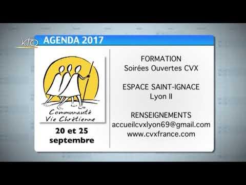 Agenda du 1er septembre 2017