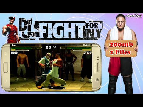 290mb Def Jam Fight For Ny Same Like Urban Reign Game For Android