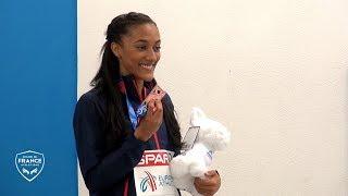 Glasgow 2019 : Le podium de Solène Ndama