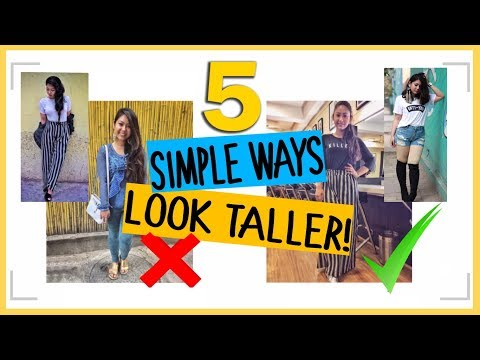 5 WAYS TO LOOK TALLER | Fashion Tips For Short Girls | ThatQuirkyMiss