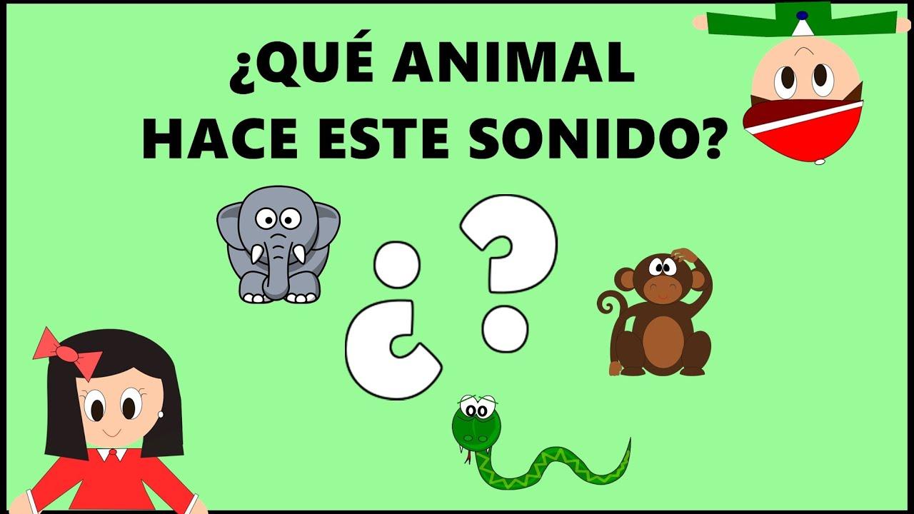 Sonidos de animales para niños y bebés. Adivina qué animal hace este sonido  . Vídeos educativos