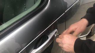fix STUBBORN auto door lock actuator solenoid chevy hhr