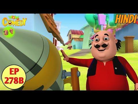 Motu Patlu | Cartoon in Hindi | 3D Animated Cartoon Series for Kids | Bhuddhu No.1