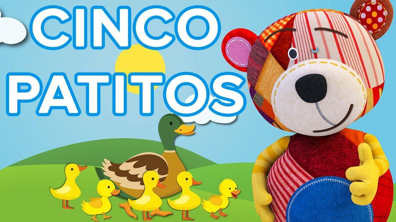 Cinco patitos | Canción para niños con el Oso Traposo ????