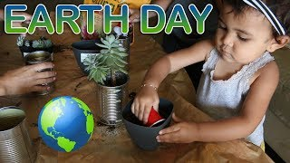 DIY 🌏 EARTH DAY CRAFTS & ACTIVITIES WITH THE KIDS