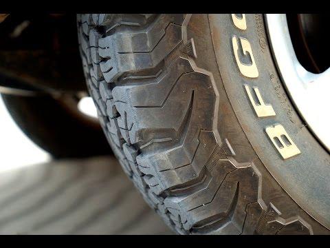 BF Goodrich All-Terrain KO2 tire review