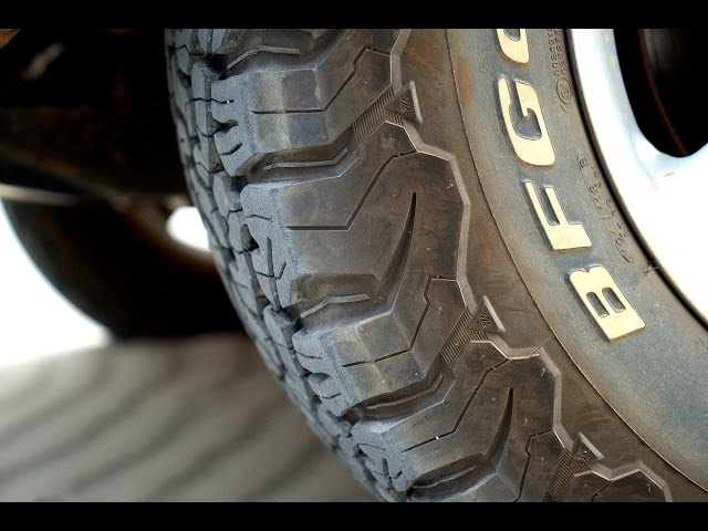 bf goodrich all terrain ko2 tire review. Black Bedroom Furniture Sets. Home Design Ideas