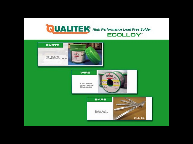 Ecolloy A High Performance Lead Free Silver Free Alloy Alternative