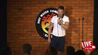 Russell Arathoon   LIVE at Hot Water Comedy Club