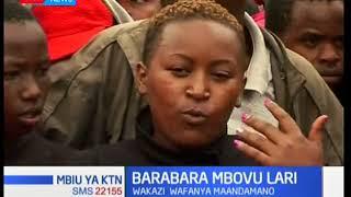 Wakazi wa eneo la Githunguri wafanya maandamano