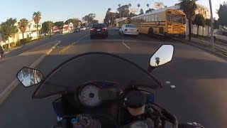 Вторая жизнь мотоциклиста. Подборка ДТП на мотоцикле. Мото фарт.На волоске от смерти