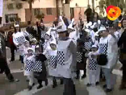 Los alumnos de La Sagrada Familia reivindican los juegos de mesa en Carnaval