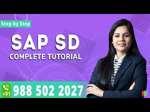 sap sd tutorial for beginners    sap sd training online    sap sd ...