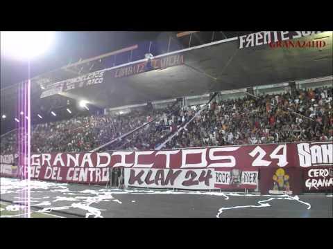 """""""Granadictos 24 vs Aragua F.C. (Copa Venezuela 2014)"""" Barra: Granadictos • Club: Carabobo"""